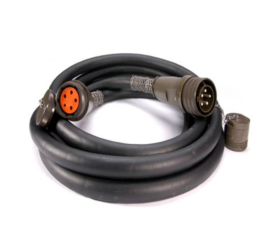 Power Cable Assemblies : Mil class l heavy duty power cables amphenol pcd