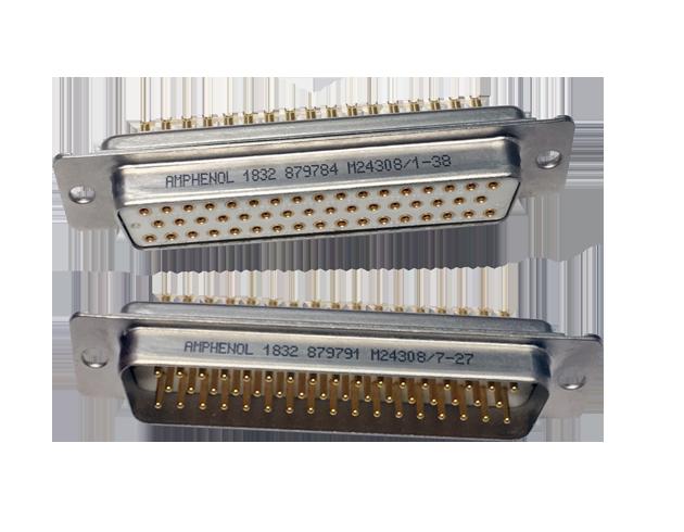 Mil Dtl 24308 D Sub Connectors Amphenol Pcd
